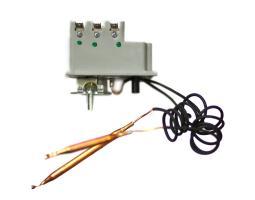 Блок ТЭН 12,0 кВт медный RTF 550 мм с трубкой термостата, резьба G 2 (59 мм) 3401295