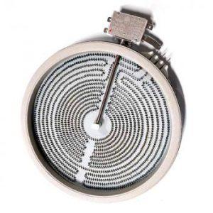 Конфорка 2-х зонная для стеклокерамических плит 2100 Вт 823021