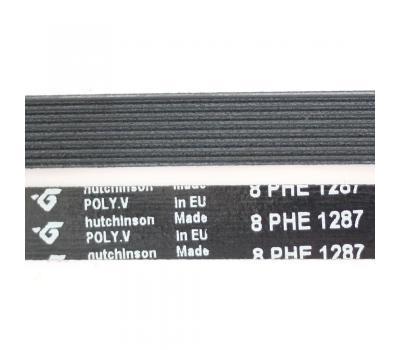 Ремень 1287 H8 L-1198 мм, чёрный H342