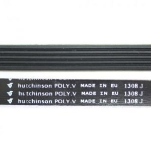 Ремень 1308 J5 длина 1318 мм, черный J802